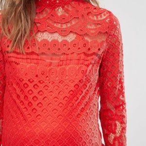🔥 Stunning Crochet Lace Dress